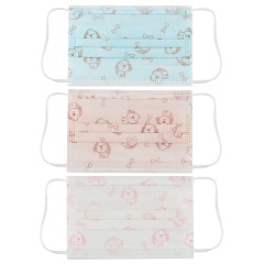 3-Ply Disposable Face Mask with Earloops